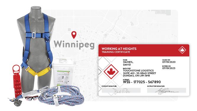 Working at Heights Winnipeg