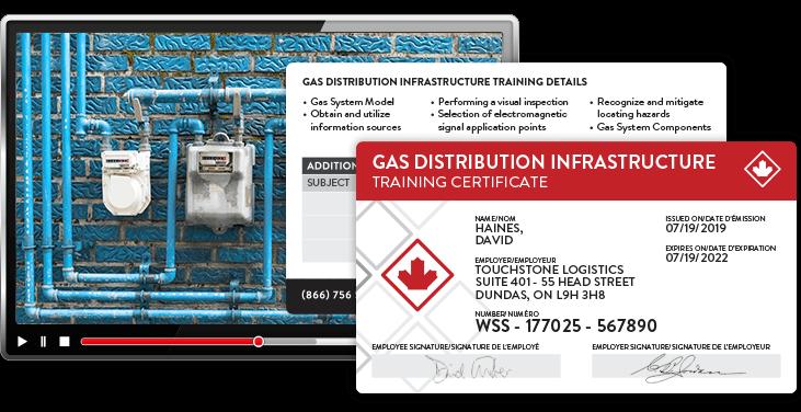 gas distribution training