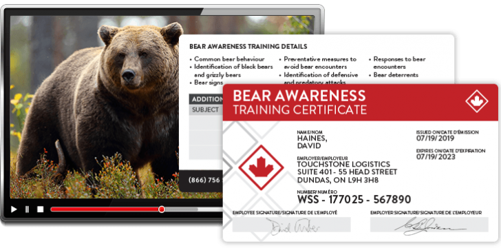 bear awareness course