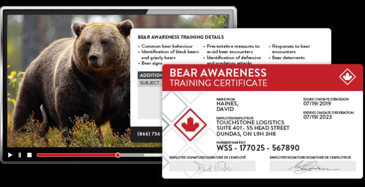 bear awareness course