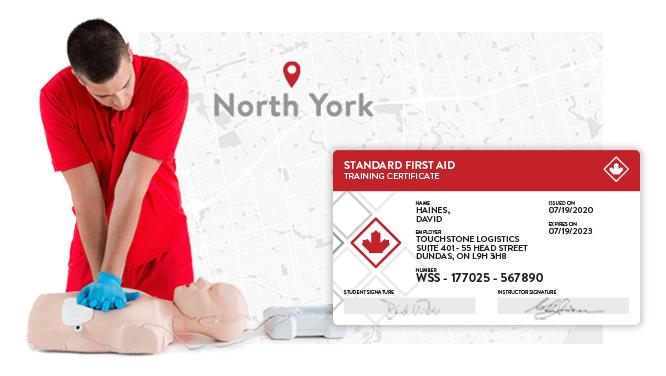 first Aid North York Toronto